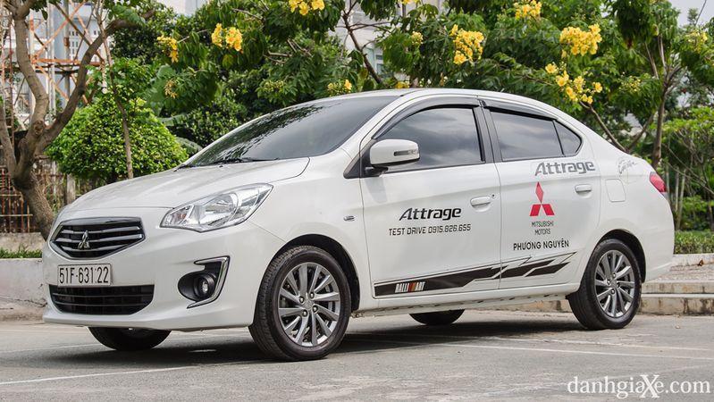 Mitsubishi Attrage 1
