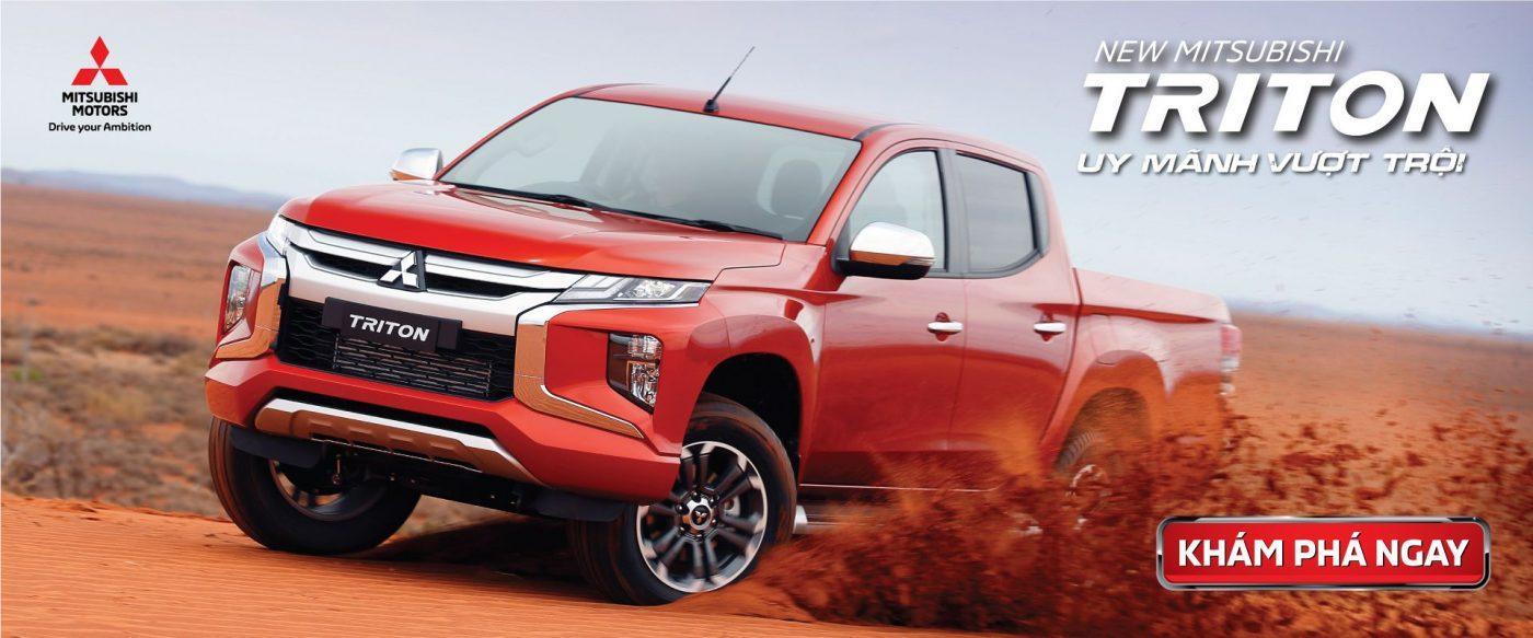 Giá Xe Bán Tải Mitsubishi Triton 2020 Cập Nhật Mới Nhất