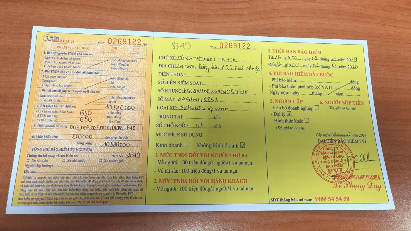 Mitsubishi Huỳnh Tấn Phát Quận 7 – Bảo Hiểm Oto Bắt Buộc Có Tác Dụng Gì