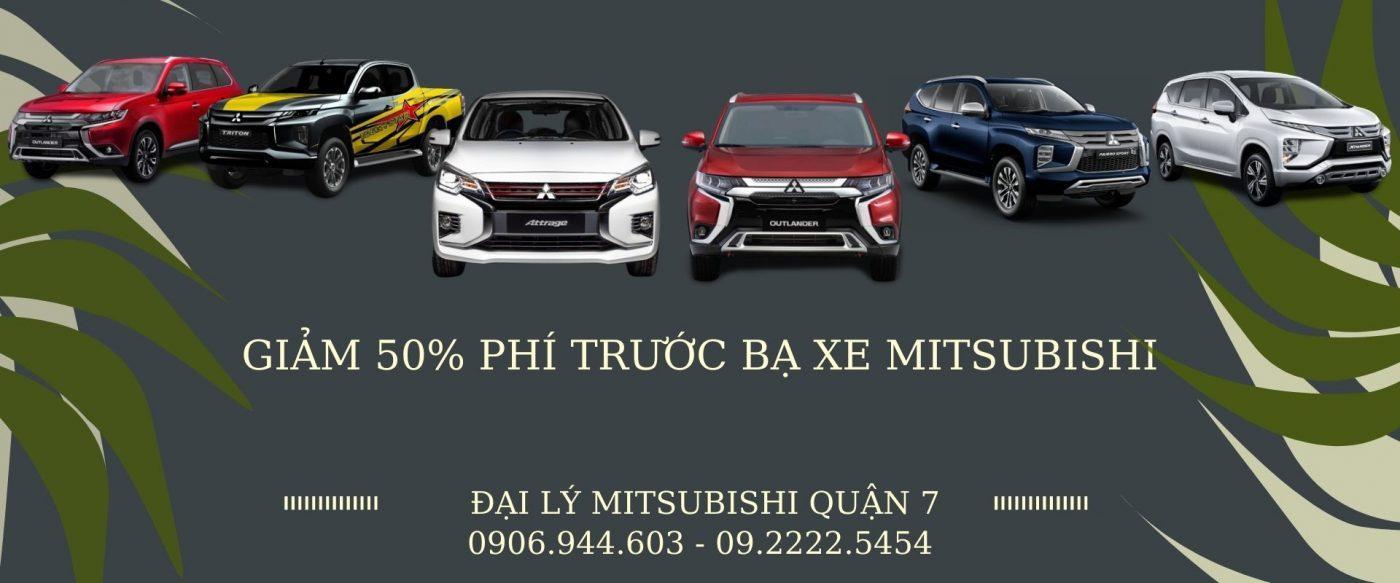 Ưu Đãi Mua Xe Mitsubishi 2020 – Giảm Phí Trước Bạ Xe Mitsubishi