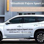 Một Số Điểm Mới Trên Mitsubishi Pajero Sport 2020