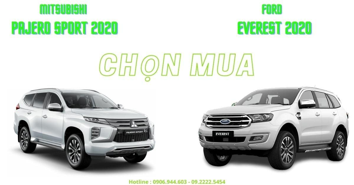 So Sánh Pajero Sport & Ford Everest Nên Chọn SUV 7 Chỗ Nào