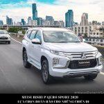 Thủ Tục & Hồ Sơ Mua Xe Mitsubishi Pajero Sport Trả Góp 2020