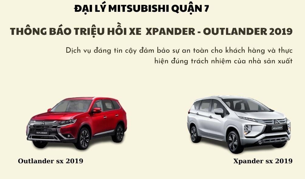 Mitsubishi Outlander và Xpander Triệu Hồi Kiểm Tra Và Thay Thế Bơm Xăng