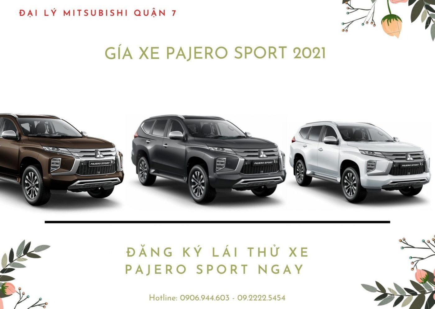 Giá Xe Pajero Sport 2021 – Mua Xe Pajero Sport Giá Tốt