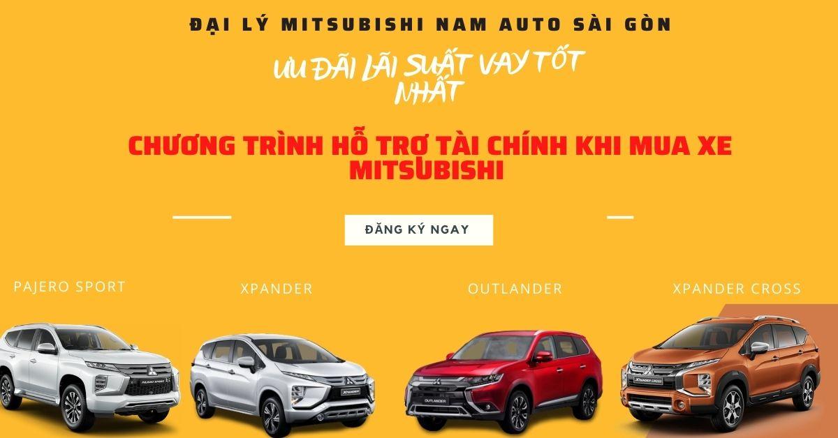 Mitsubishi Nam Auto Ưu Đãi Vay Khi Mua Xe Mitsubishi